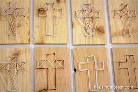 Nail And String Patterns - 8 best images of printable string cross string