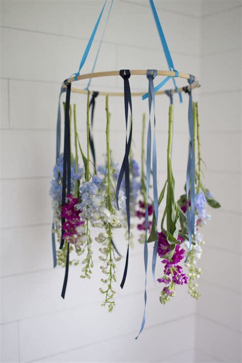 Floral Chandelier Diy Diy A Floral Chandelier How Sweet It Is