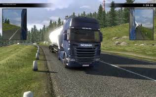 Truck Driving Wheel For Pc Scania Truck Driving Simulator The Screenshot Image