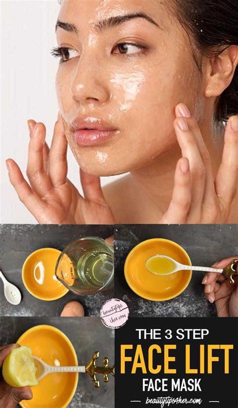 diy tightening mask skin tightening firming mask fai da te