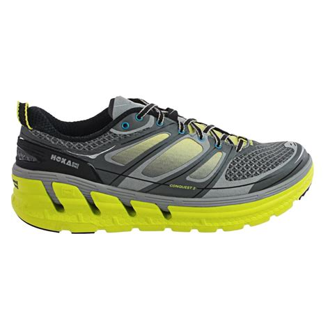 hoka running shoe reviews hoka one one conquest 2 running shoes for 9679m