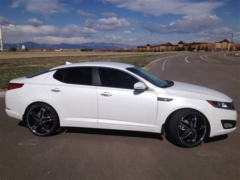 Rims For 2013 Kia Optima 2013 Kia Optima With White Rims Kia Optima Inspirations