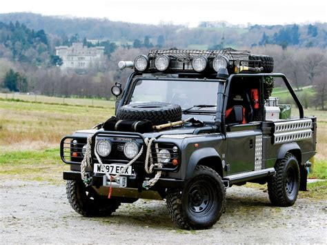 land rover defender 90 wallpapers and images wallpapers land rover defender 90 tomb raider movie car 2001