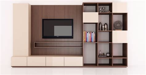 tv unit with bookshelf decopad premium home