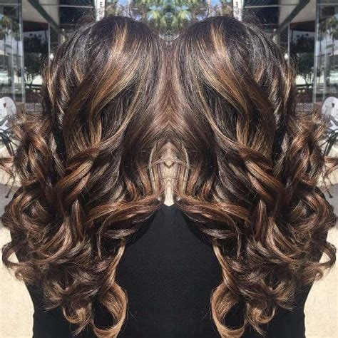 chocolate hair color with caramel highlights 100 caramel highlights ideas for all hair colors