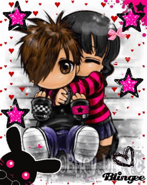 imagenes de amor besandose animadas love emo fotograf 237 a 90806012 blingee com