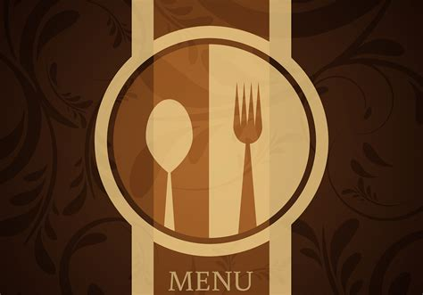 design the menu background stock vector illustration of cover