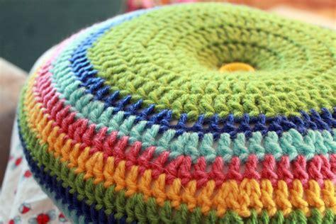 how to crochet a pillow easy striped 16 quot pillow crochet pattern
