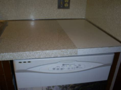 Contact Paper For Kitchen Countertops Kitchen Counter Before And After Contact Paper Diy House Projects