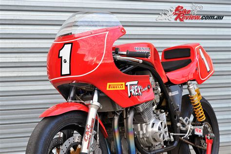 retro racer t rex harris honda bike review