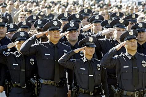 How Many Officers In The Us by Gaudet S Salute To In Blue Girard