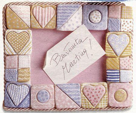 cornici pasta di sale cornice pasta di sale mosaico ceramica pasta di sale