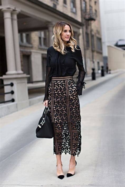 17 best ideas about lace skirt on