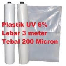 Harga Plastik Uv Per Roll jual plastik uv eceran per roll harga termurah