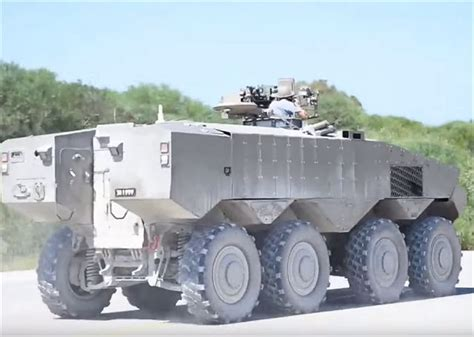 Taiwan Made Vehicle Gps Tracking Intellitrac X8 Pelacak Mobil Eitan 8x8 Apc Armoured Vehicle Personnel Carrier Technical