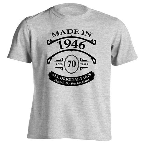 40th Birthday T Shirt Made In 1976 Novelty Birthday Gift Size Xl a great 70th birthday gift for someone born in 1946 to