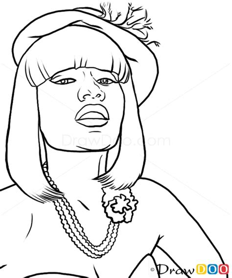 20 Free Printable Nicki Minaj Coloring Pages Nicki Minaj Coloring Pages