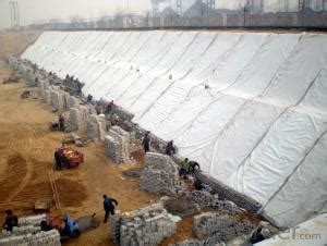 non woven needle punched geotextile short fiber  okorder.com