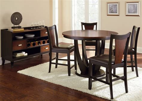 counter height dining room sets oakton counter height dining room set from steve