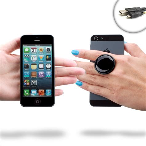 phone grip sure grip swiveling phone grip handle for smartphones