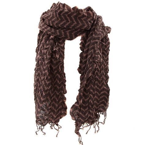zig zag wool scarf seven colours by s web