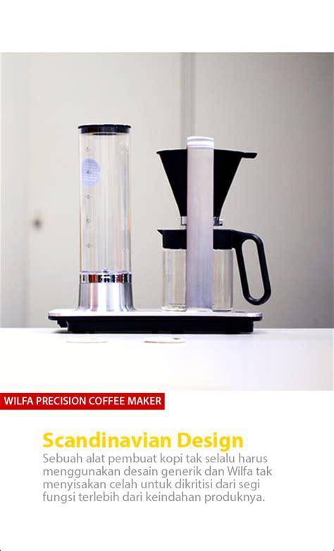 Berapa Coffee Maker wilfa cikopi