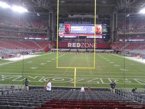 glendale az section 8 university of phoenix stadium section 119 arizona