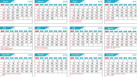 layout kalender 2018 cdr download gratis kalender 2018 editable format cdr lengkap