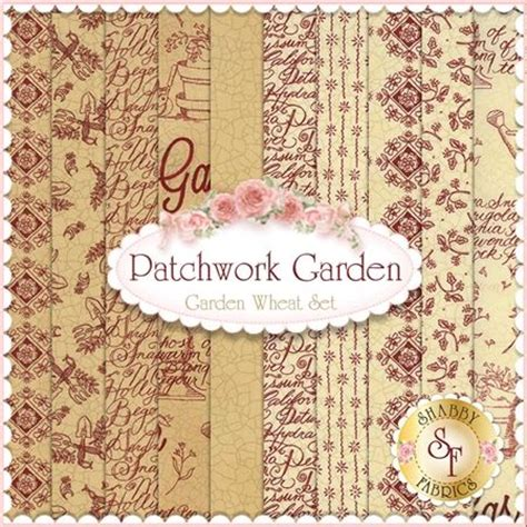 Patchwork Garden - 20 curated fabric ideas by kathystitches gardens