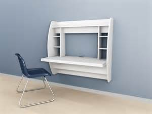 Wall Mounted Desk Ideas Wall Mounted Prepac Floating Storage Desk White Black Espresso Optimize Your Space