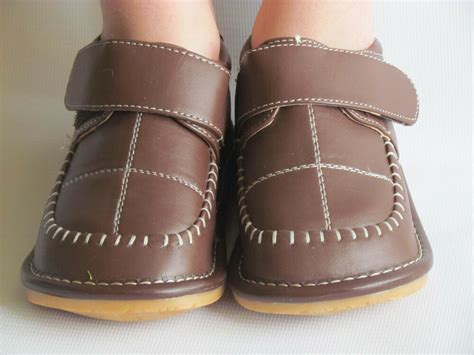 Toddler Boy Size 7 Dress Shoes by Toddler Shoes Squeaky Shoes Boys Brown Dress Shoes Up To Size 7 For Toddler Ebay