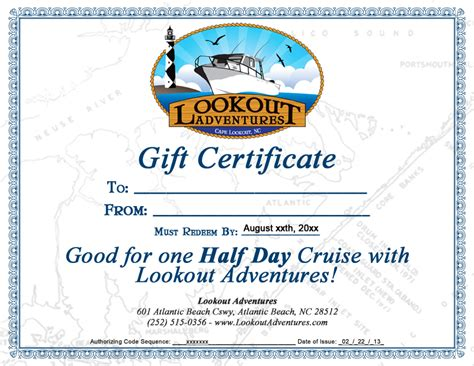 fishing gift certificate template purchase gift certificates charter boat boat