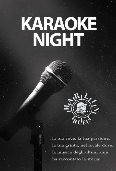 sotto e stelle testo karaoke sotto le stelle serate locali pub bar scanzano