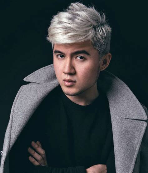 mens frosted hair 1000 ideas about silver hair men on pinterest white