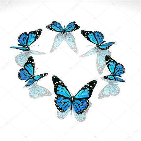 imagenes en 3d hermosas grupo de hermosas mariposas 3d foto de stock 169 lovart