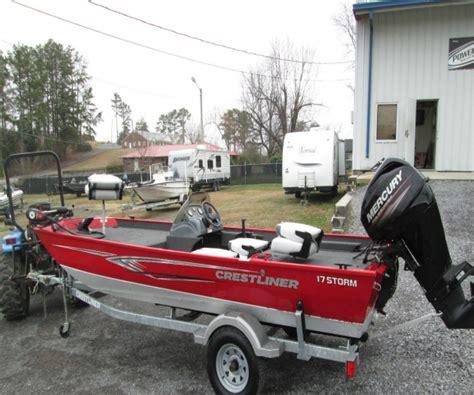 fishing boats for sale houston 2013 crestliner 17 storm fishing boat for sale in houston tx
