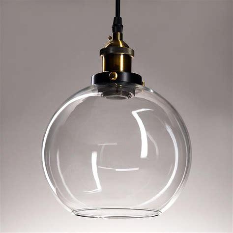industrial glass pendant lights vintage industrial glass ceiling pendant chandelier light