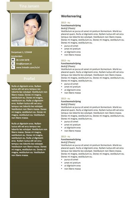 Simpel Cv Sjabloon 25 Unique Resume Form Ideas On Interior Design Resume Template Simple Resume