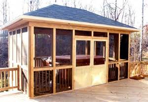 an exle of taking a screened porch to another