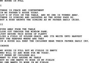 Country southern and bluegrass gospel song my house is full lyrics
