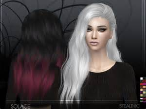 sims 4 cc for hair stealthic solace female hair