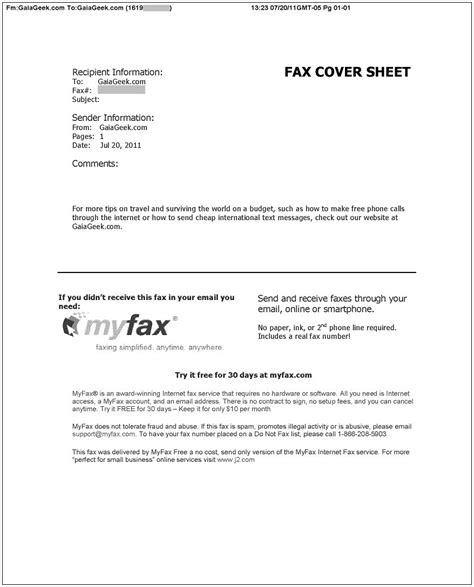 Fax Transmission Verification Report Template Fax Confirmation Sheet