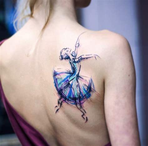 40 wonderful ballerina amp dancer tattoo designs tattooblend