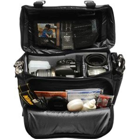 nikon deluxe digital slr camera case gadget bag  df