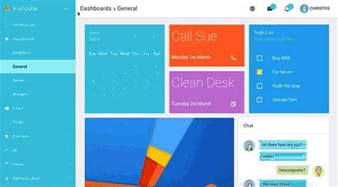 Triangular Material Design Admin Template Angularjs Download Free Theme Download Angular Material Design Template