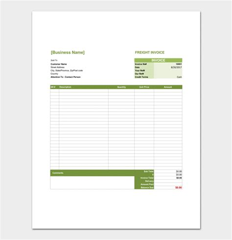 delivery order template delivery order template 6 forms for word excel pdf