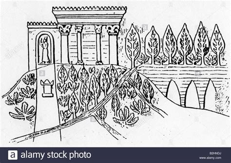 coloring pages hanging gardens of babylon ancient world babylon hanging gardens of babylon
