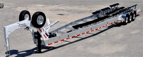 small boat beach trailer seavax boat beach launch and recovery carriage world s