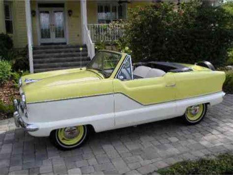 nash metropolitan 1962, convertible special pre estate