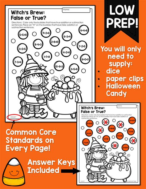 math activities kindergarten